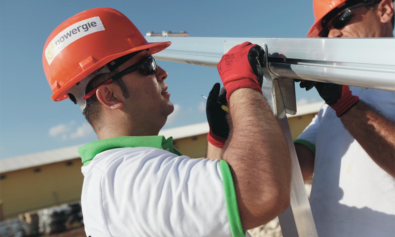Tuncmatik - Powergie Gaziantep 500 kWp Güneş Enerji Santrali Hizmete Açıldı.